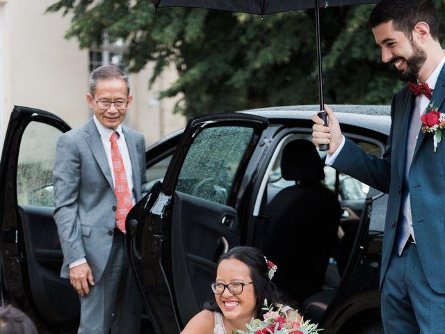Le mariage de Lucas et Kim Vân à Le Mesnil-Saint-Denis, Yvelines 36