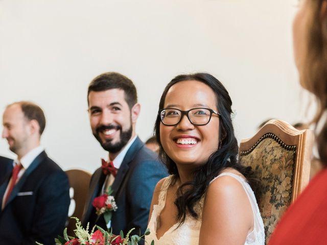 Le mariage de Lucas et Kim Vân à Le Mesnil-Saint-Denis, Yvelines 56
