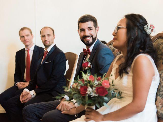 Le mariage de Lucas et Kim Vân à Le Mesnil-Saint-Denis, Yvelines 57