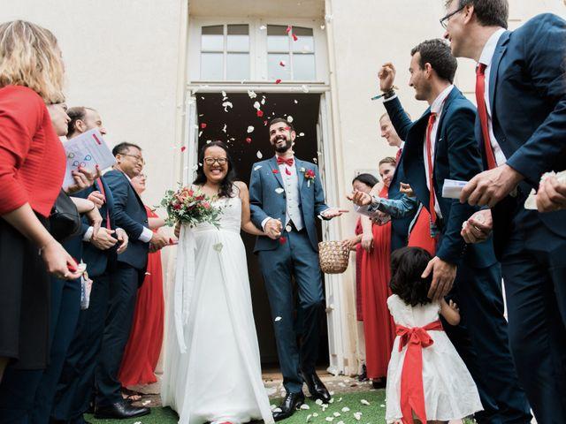 Le mariage de Lucas et Kim Vân à Le Mesnil-Saint-Denis, Yvelines 64