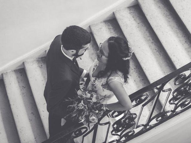 Le mariage de Lucas et Kim Vân à Le Mesnil-Saint-Denis, Yvelines 75