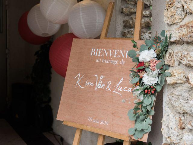 Le mariage de Lucas et Kim Vân à Le Mesnil-Saint-Denis, Yvelines 86