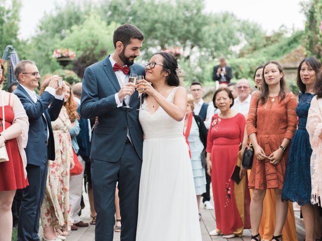 Le mariage de Lucas et Kim Vân à Le Mesnil-Saint-Denis, Yvelines 117