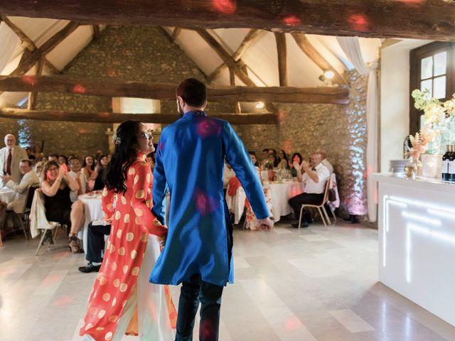 Le mariage de Lucas et Kim Vân à Le Mesnil-Saint-Denis, Yvelines 136