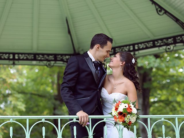 Le mariage de Angélique et Benjamin