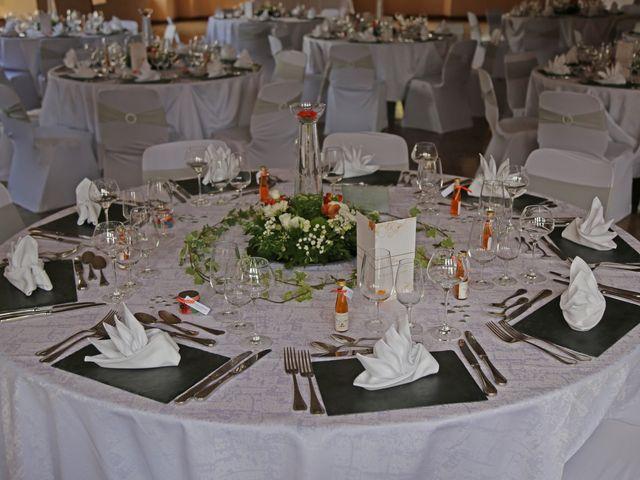 Le mariage de Benjamin et Angélique à Issenheim, Haut Rhin 4