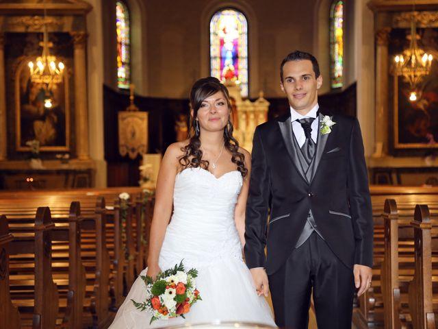Le mariage de Benjamin et Angélique à Issenheim, Haut Rhin 6