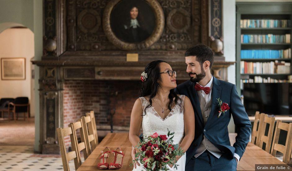 Le mariage de Lucas et Kim Vân à Le Mesnil-Saint-Denis, Yvelines