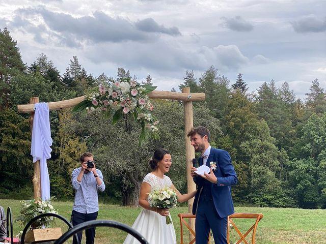 Le mariage de Raphaël et Océane à Wangenbourg, Bas Rhin 4