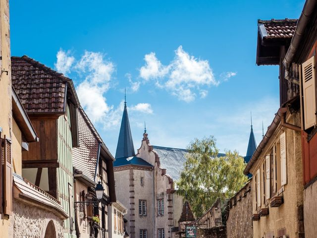 Le mariage de Nicolas et Margaux à Kientzheim, Haut Rhin 9