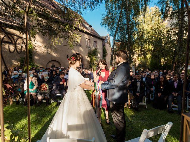 Le mariage de Nicolas et Margaux à Kientzheim, Haut Rhin 41
