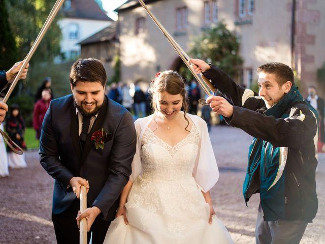 Le mariage de Nicolas et Margaux à Kientzheim, Haut Rhin 46