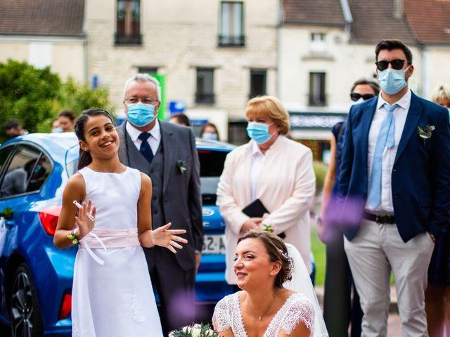 Le mariage de Damien et Soizic à Bleury, Eure-et-Loir 12