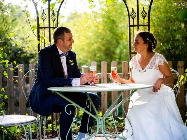Le mariage de Damien et Soizic à Bleury, Eure-et-Loir 90