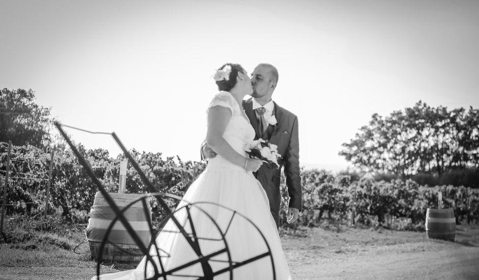 Le mariage de Martial et Nadège à Séguret, Vaucluse