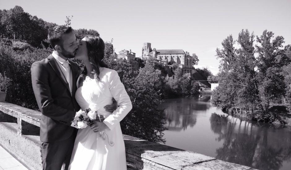 Le mariage de Arthur et Sybille  à Lavaur, Tarn