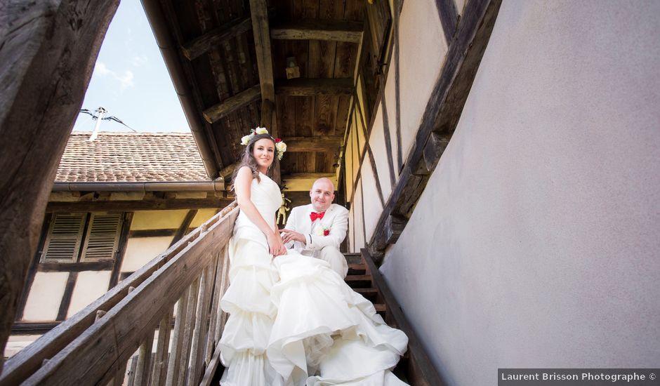Le mariage de Jean-François et Natalia à Bischheim, Bas Rhin