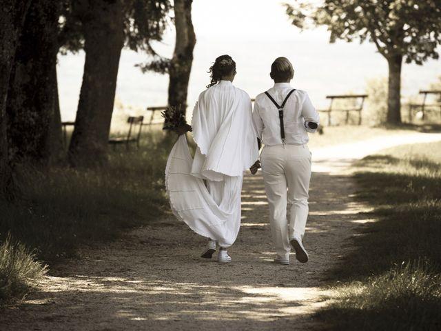 Le mariage de Sandrine et Sarah à Saxon-Sion, Meurthe-et-Moselle 3