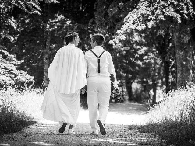 Le mariage de Sandrine et Sarah à Saxon-Sion, Meurthe-et-Moselle 4