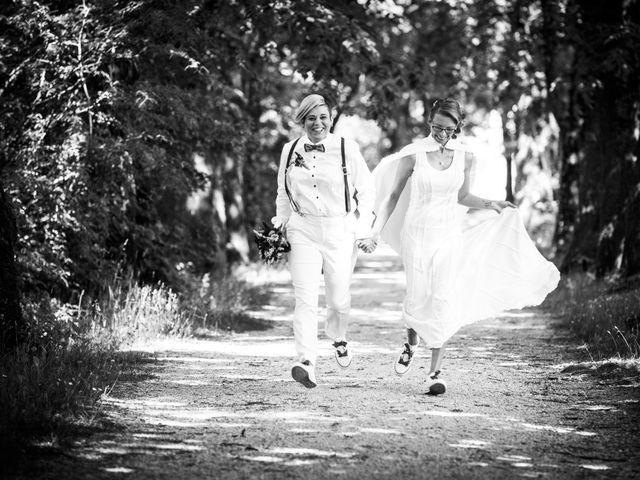 Le mariage de Sandrine et Sarah à Saxon-Sion, Meurthe-et-Moselle 16