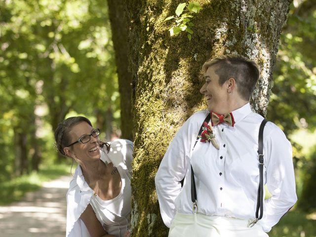 Le mariage de Sandrine et Sarah à Saxon-Sion, Meurthe-et-Moselle 17