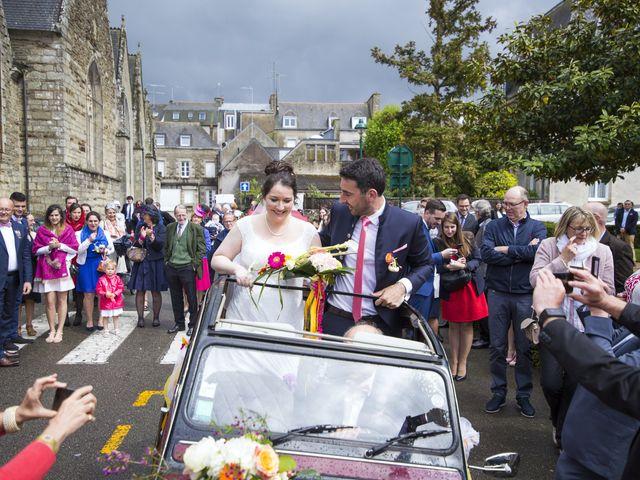 Le mariage de Stanislas et Violaine à Pontivy, Morbihan 35