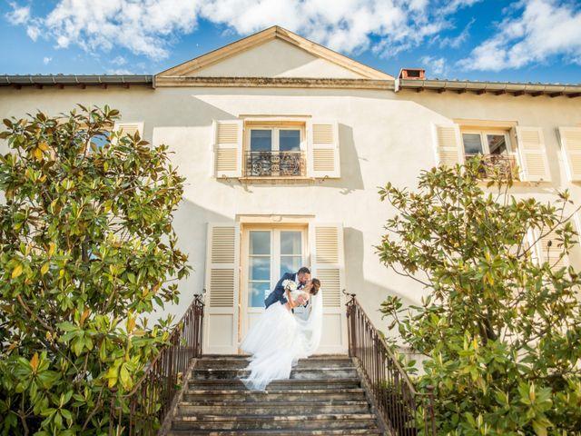 Le mariage de Vladimir et Jamila à La Chapelle-de-Guinchay, Saône et Loire 2
