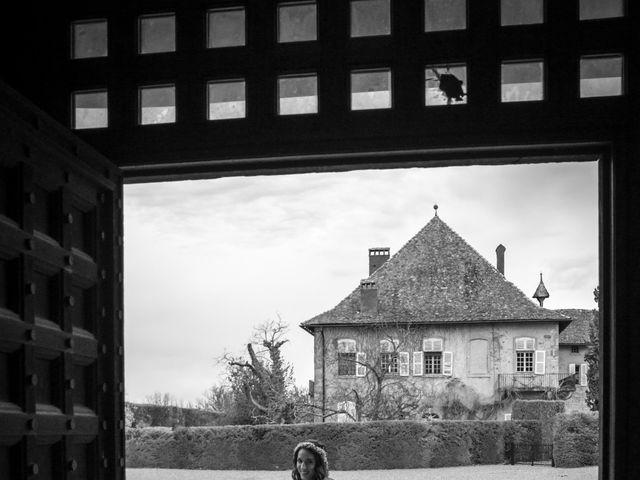 Le mariage de Vincent et Andriana à Veigy-Foncenex, Haute-Savoie 13