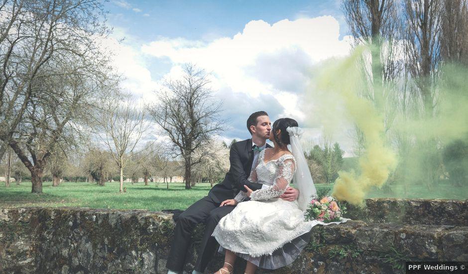 Le mariage de Bastien et Sophia à Courgenay, Yonne