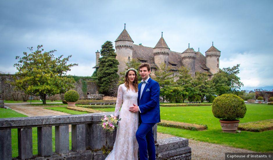 Le mariage de Vincent et Andriana à Veigy-Foncenex, Haute-Savoie