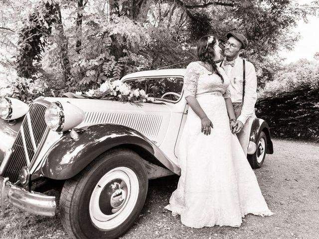 Le mariage de Jérôme et Fanny à Avessac, Loire Atlantique 44