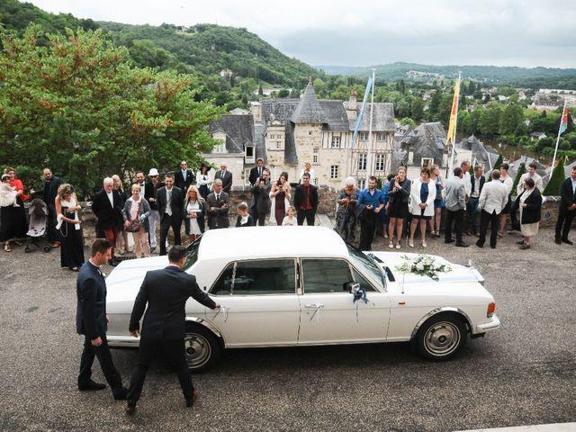 Le mariage de Alexandre et Amaelle à Terrasson-Lavilledieu, Dordogne 34