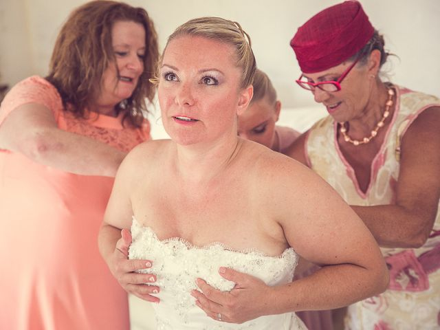 Le mariage de Laurent et Natacha à Forcalqueiret, Var 6
