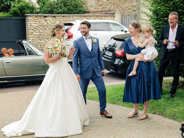 Le mariage de Nicolas et Camille à Saint-Léger-en-Yvelines, Yvelines 35