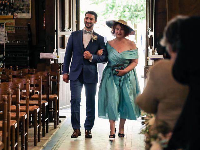 Le mariage de Nicolas et Camille à Saint-Léger-en-Yvelines, Yvelines 78
