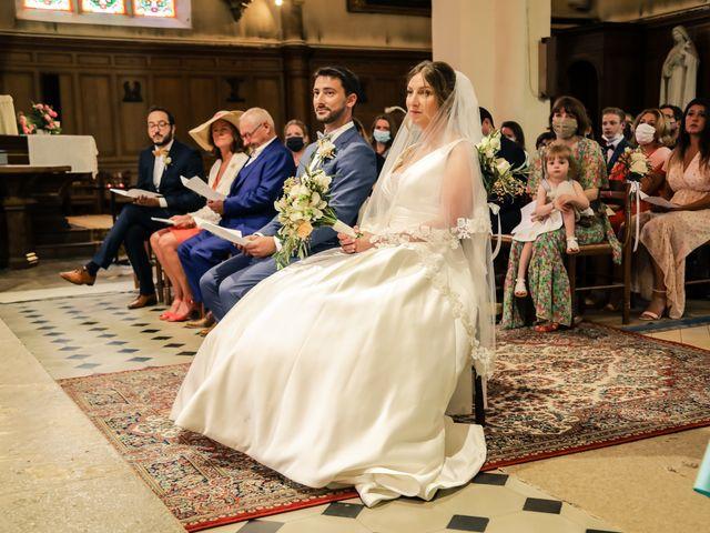 Le mariage de Nicolas et Camille à Saint-Léger-en-Yvelines, Yvelines 87