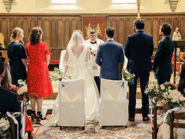 Le mariage de Nicolas et Camille à Saint-Léger-en-Yvelines, Yvelines 90
