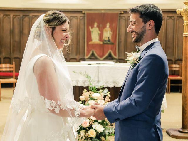 Le mariage de Nicolas et Camille à Saint-Léger-en-Yvelines, Yvelines 91
