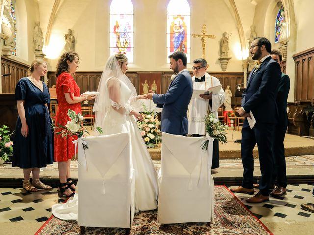 Le mariage de Nicolas et Camille à Saint-Léger-en-Yvelines, Yvelines 95