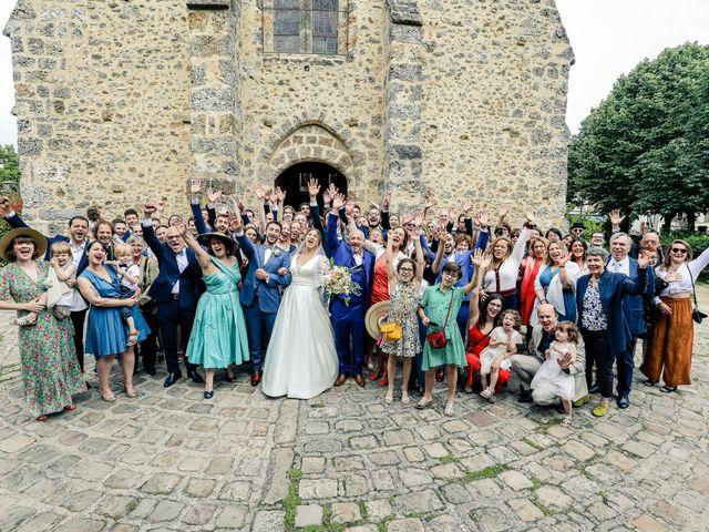 Le mariage de Nicolas et Camille à Saint-Léger-en-Yvelines, Yvelines 107