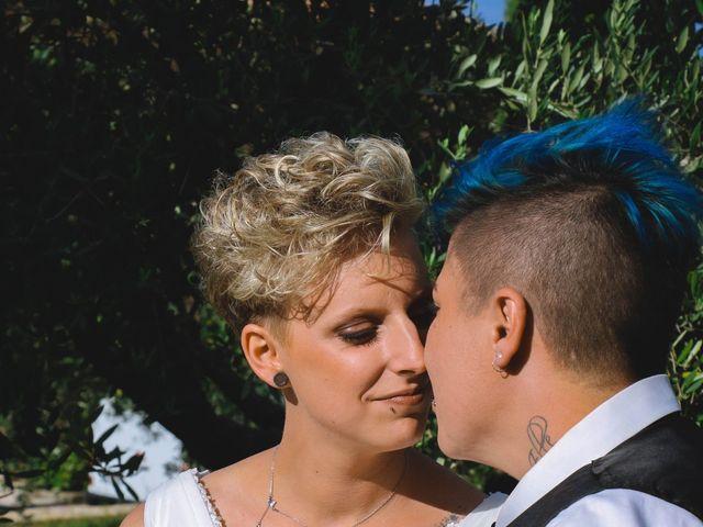 Le mariage de Marine et Delphine à Venterol, Hautes-Alpes 17