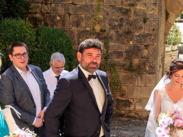 Le mariage de Paul et Céline à Saint-Amand-de-Coly, Dordogne 7