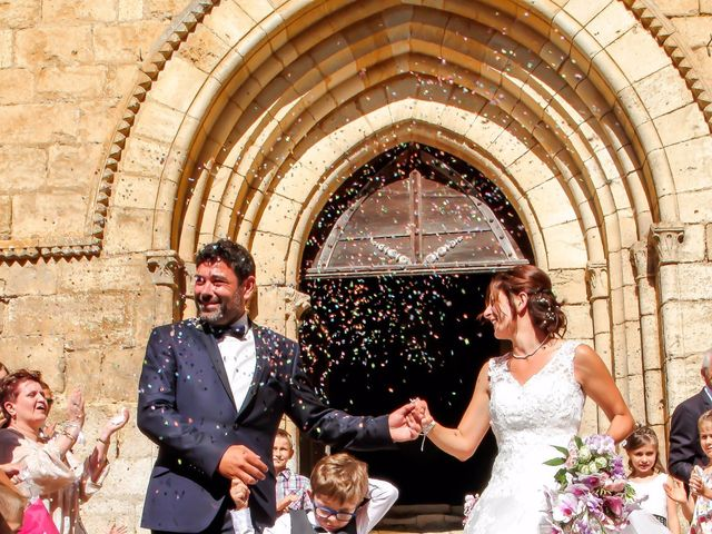 Le mariage de Paul et Céline à Saint-Amand-de-Coly, Dordogne 8