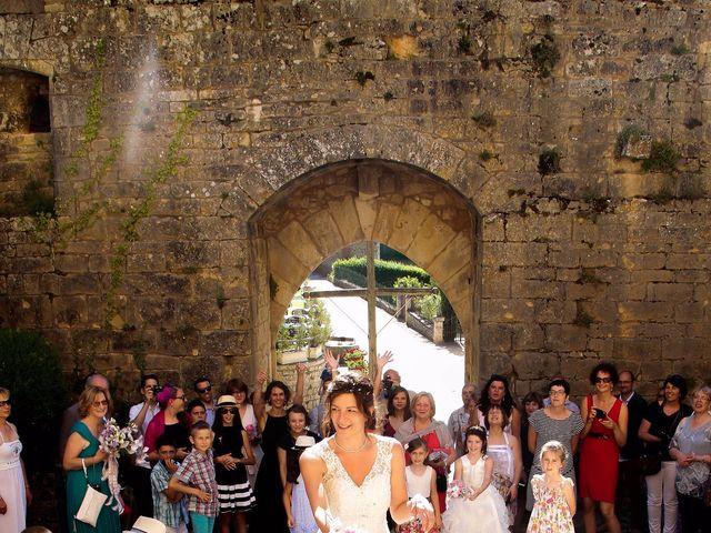 Le mariage de Paul et Céline à Saint-Amand-de-Coly, Dordogne 9