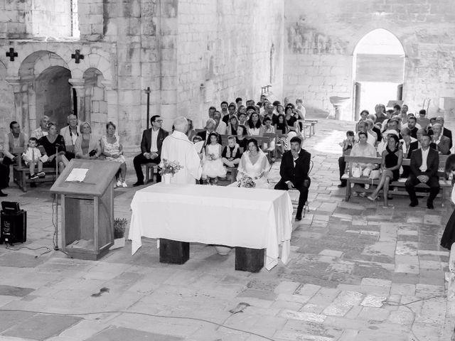 Le mariage de Paul et Céline à Saint-Amand-de-Coly, Dordogne 20