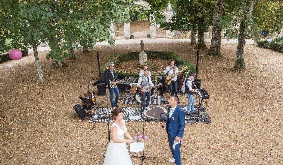 Le mariage de Julien et Lauriane à Lamonzie-Montastruc, Dordogne