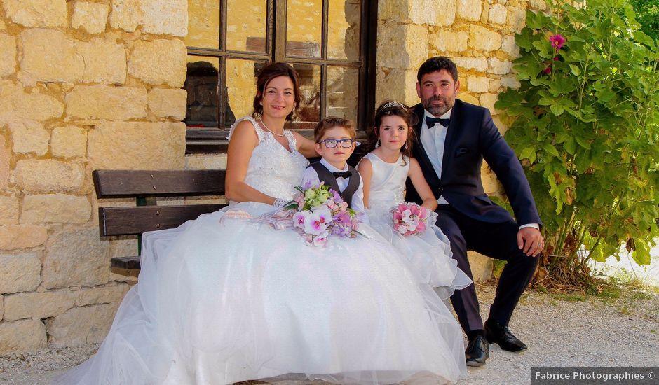 Le mariage de Paul et Céline à Saint-Amand-de-Coly, Dordogne