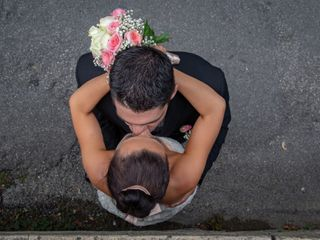 Le mariage de Séréna et Sandro