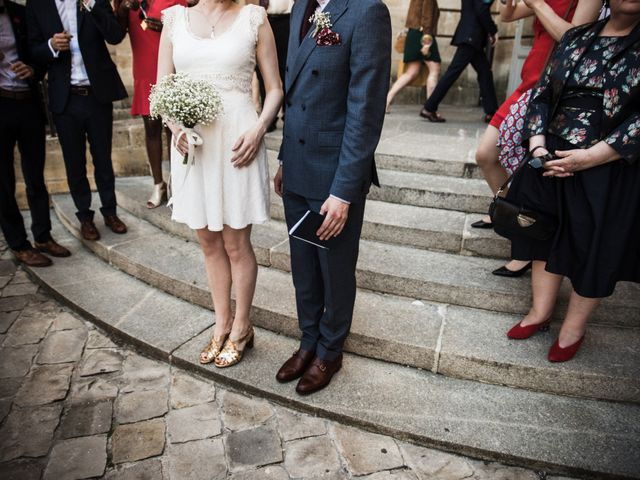 Le mariage de Oscar et Nina à Sainte-Gemme, Gironde 6