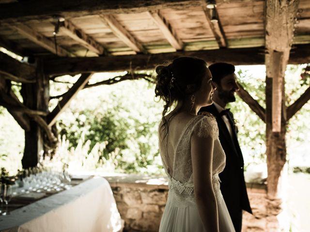 Le mariage de Oscar et Nina à Sainte-Gemme, Gironde 16